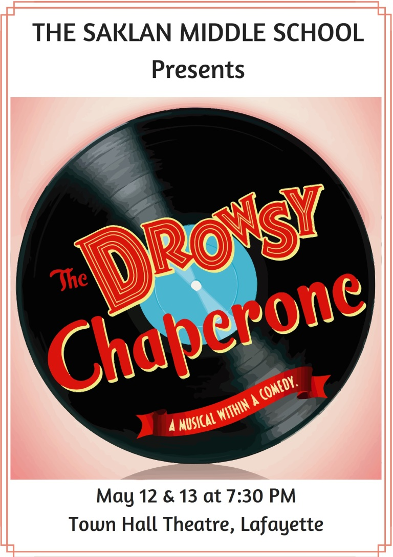 drowsy chaperone The drowsy chaperone is a musical with book by bob martin and don mckellar and music and lyrics by lisa lambert and greg morrison it is a parody of american musical comedy of the 1920s.