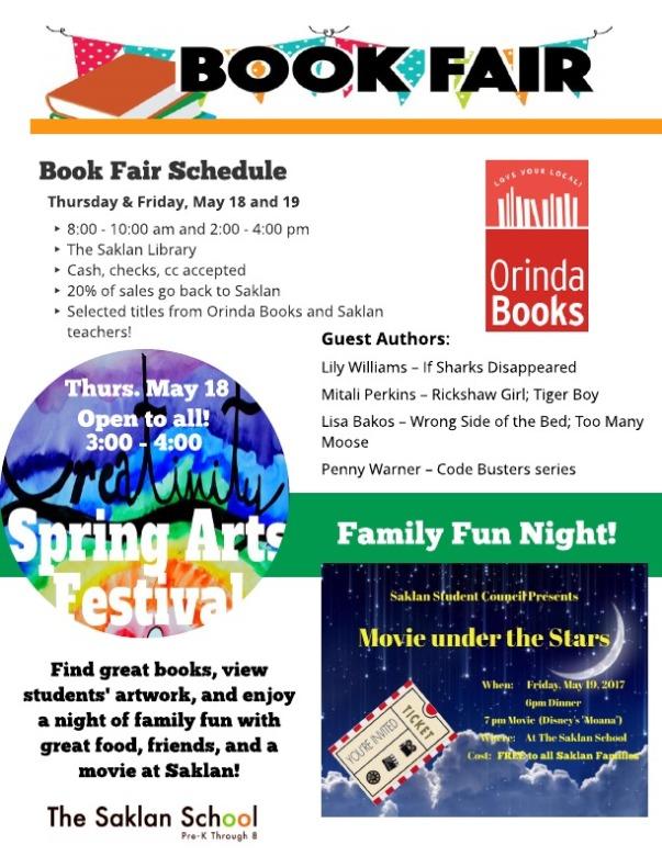 Book Fair, Art, Family Fun 2017 (2)