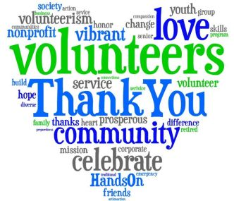 volunteer appreciation heart