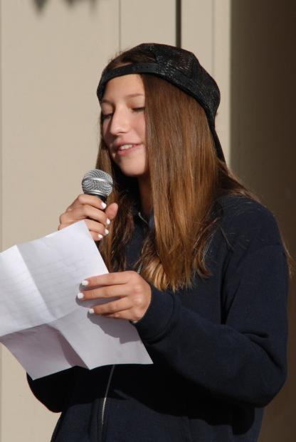 Natalie Barkey (8th grade)