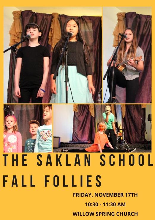 Fall Follies 2017