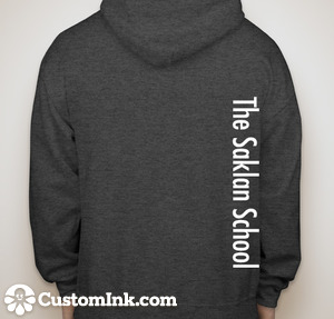 Saklan Sweatshirt Back