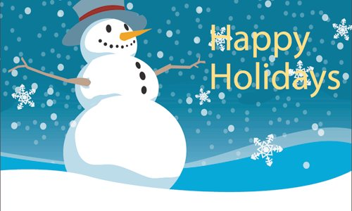 Snowman-Wishes-You-Happy-Holidays