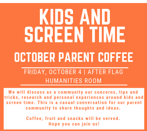 Oct Parent Coffee