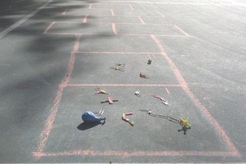 hopscotch markers